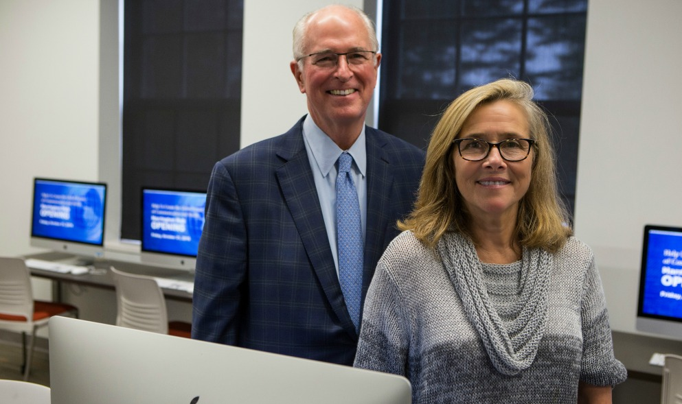 Donor Supported Harrington Hub Opens at URI